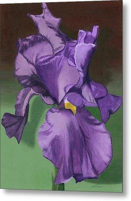 Purple Fantasy Metal Print by Lynne Reichhart