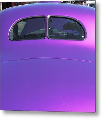 Purple Forty Metal Print