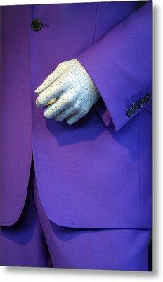 Purple Hand Purple Hand Metal Print by Jez C Self