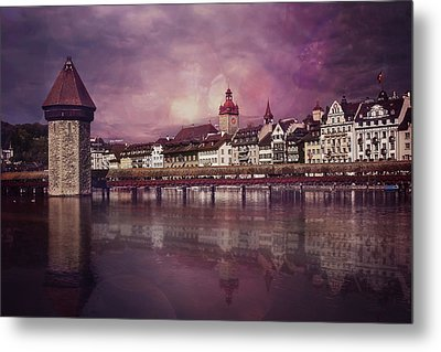 Purple Haze Metal Print by Carol Japp