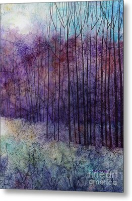 Purple Haze Metal Print by Hailey E Herrera