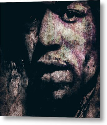 Purple Haze Metal Print by Paul Lovering