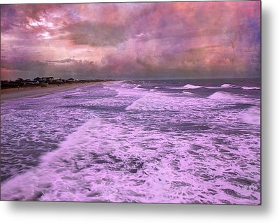 Purple Majesty  Metal Print by Betsy Knapp