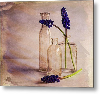 Metal Print featuring the photograph Purple by Mary Hone