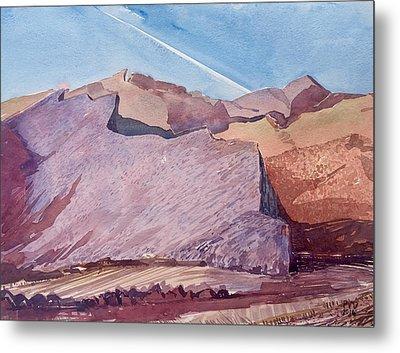 Purple Mountain Majesty Metal Print by Vaughan Davies