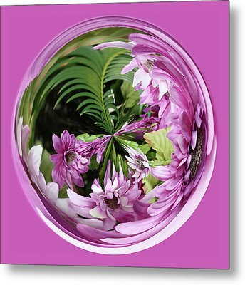 Metal Print featuring the photograph Purple Orb by Bill Barber