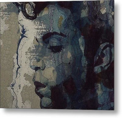 Purple Rain - Prince Metal Print by Paul Lovering