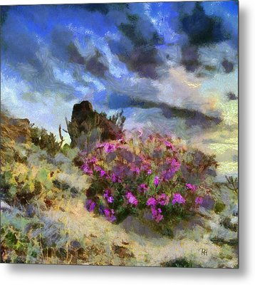 Purple Rain Metal Print by Russ Harris