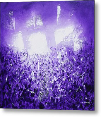 Purple Rave Metal Print