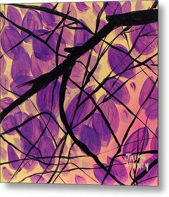Purple Reign Metal Print by Jaime Haney
