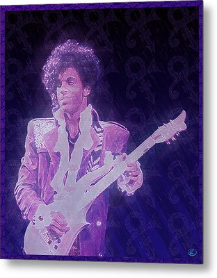 Purple Reign Metal Print by Kenneth Armand Johnson