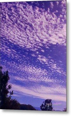 Purple Sky At Casapaz Metal Print by Jack Eadon