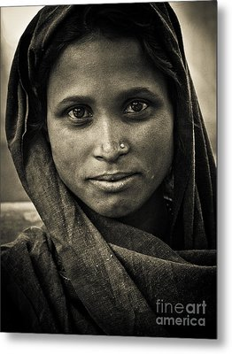 pushkar girl II Metal Print