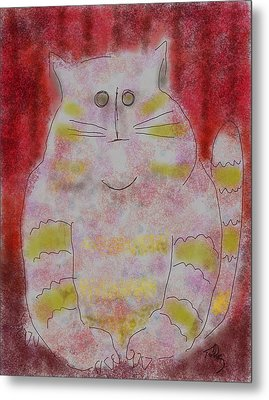 Pussy Cat Metal Print
