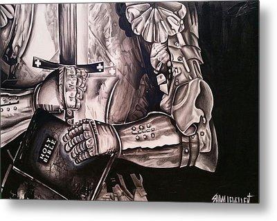 Put On The Full Armor Of God Metal Print by Shawna Lewellen