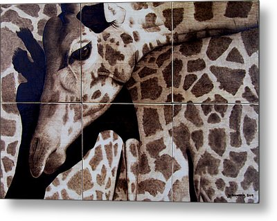 Puzzled Metal Print by Jo Schwartz