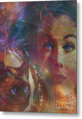Pyewacket And Gillian Metal Print