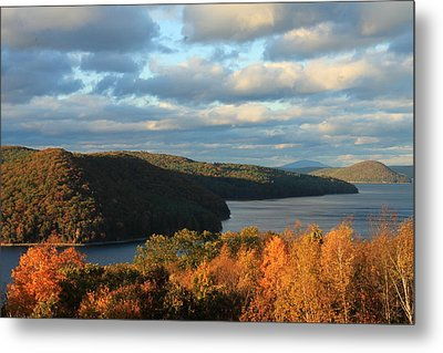 Quabbin Reservoir Foliage View Metal Print