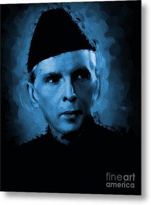 Quaid E Azam Metal Print
