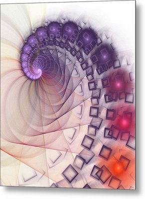 Metal Print featuring the digital art Quantum Gravity by Anastasiya Malakhova