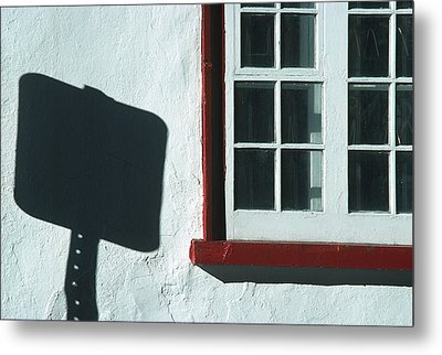Quebec Shadow 2 Metal Print by Art Ferrier