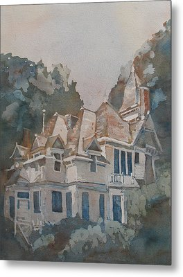 Queen Anne Nods To Shirley Jackson Metal Print by Jenny Armitage