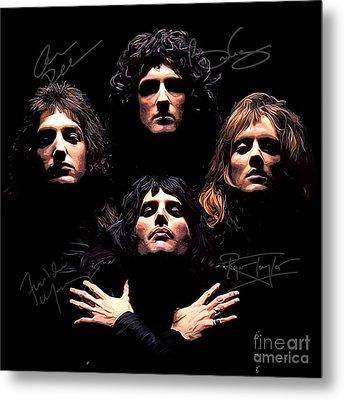 Queen Art Metal Print