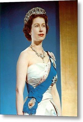 Queen Elizabeth II, Coronation Metal Print by Everett