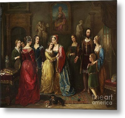 Queen Mary Of Scotland Meets Marie  Metal Print