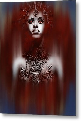 Queen Of The Damned Metal Print by Michael Gibbs