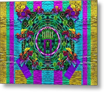 Queen Of The Light Metal Print by Pepita Selles