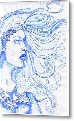 Queen Of The Wylders Metal Print