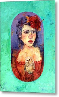 Queen Of Wisdom Metal Print by Tonya Engel