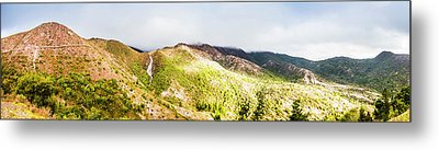 Queenstown Tasmania Wide Mountain Landscape Metal Print by Jorgo Photography - Wall Art Gallery