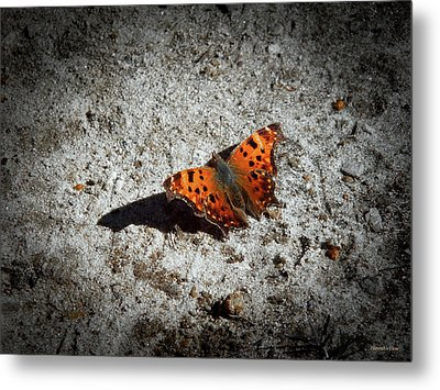 Question Mark Metal Print