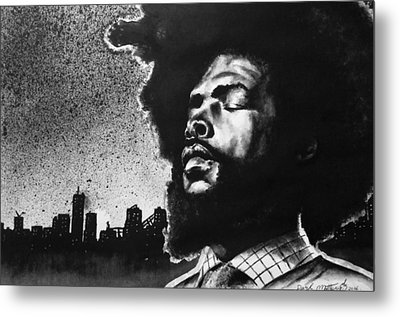 Questlove. Metal Print by Darryl Matthews