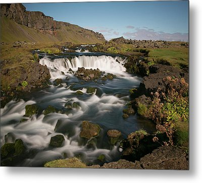 Metal Print featuring the photograph Quick Flowing by Elvira Butler