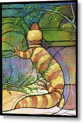 Quiet As A Mouse Metal Print