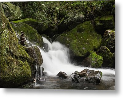 Metal Print featuring the photograph Quiet Meditation  by Julie Andel
