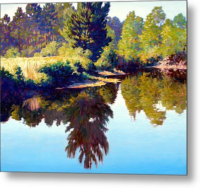 Quiet Pond Metal Print by Kevin Lawrence Leveque