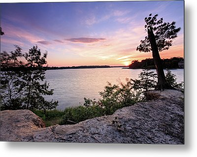 Metal Print featuring the photograph Quiet Sunset by Jennifer Casey