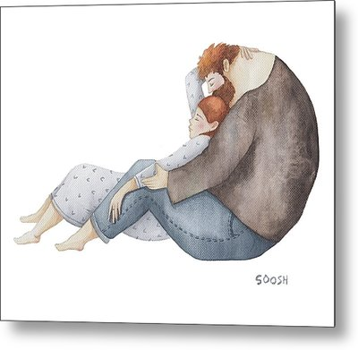 Quiet Time Metal Print by Soosh