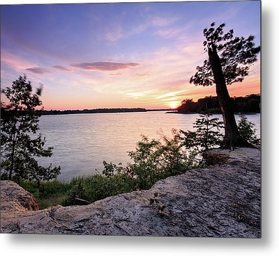 Metal Print featuring the photograph Quiet Waters Crop by Jennifer Casey