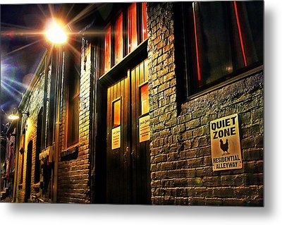 Metal Print featuring the photograph Quiet Zone by Jessica Brawley