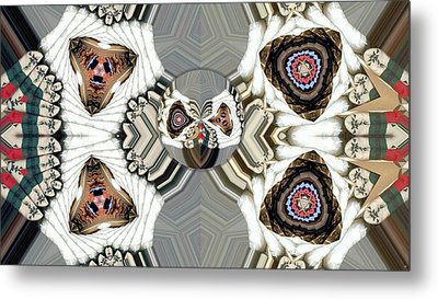 Quiltling 2 Metal Print by Ron Bissett