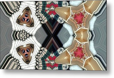 Quiltling Metal Print by Ron Bissett