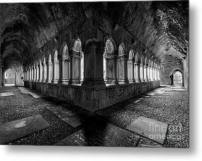 Metal Print featuring the photograph Quin Abbey by Dennis Hedberg