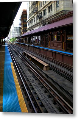 Metal Print featuring the photograph Quincy Train Station  by Joanne Coyle