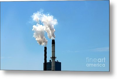 Metal Print featuring the photograph Quit by Stephen Mitchell