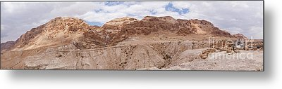 Qumran National Park Metal Print by Yoel Koskas